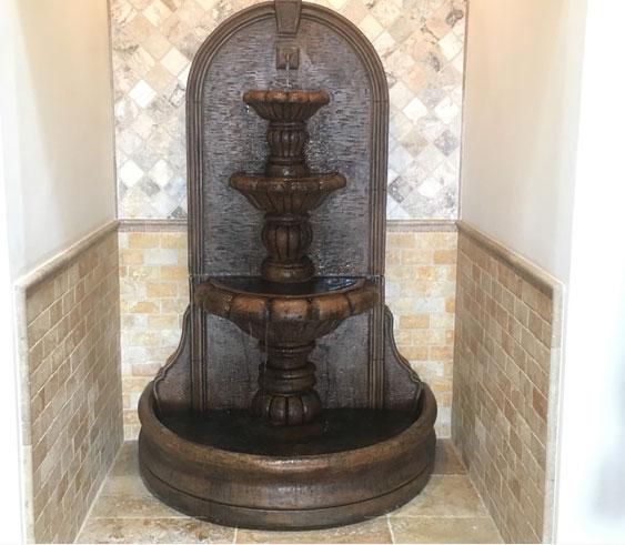 Wall Fountain with basin