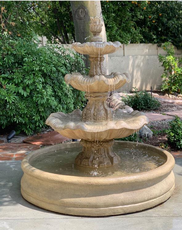 Pond or basin fountain
