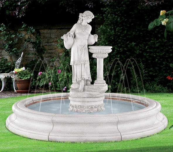 Henri Studios Statue Fountain (Fiberglass liner)