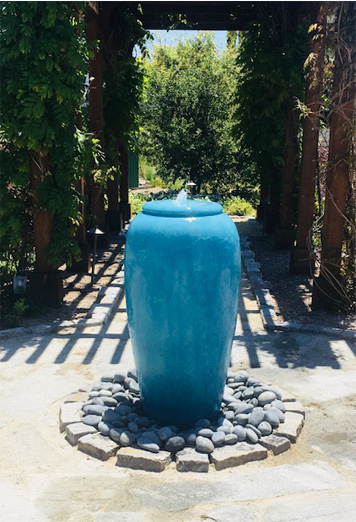 Maintenance turquoise Fountain